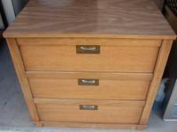 Chest of Drawer - 3 Drawers - Very Good Quality Solid