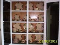 Franciscan Apple China Set, over 50 years old. In