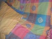 Beautiful comforter set from Coldwater Creek, like new.