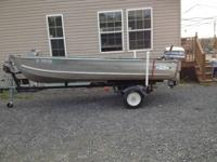 Great cond! 1980 sea nymph 14 ft deep v. 25 HP evinrude