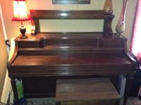 In time for the holidays! Weaver Piano Co console
