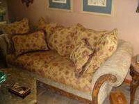 This is a beautiful couch we just had reupholstered by