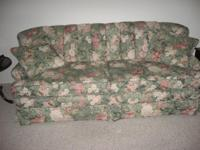 Description Beautiful floral 3 cushion sofa for sale