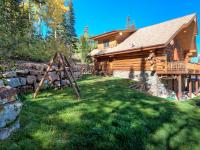 This Beautiful Custom Log Home comes with huge British