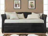 BEAUTIFUL DAYBED WITH TRUNDLE !! NEW !!! Retail $599
