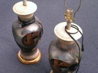 Beautiful designer lamps for sale. Comes with original