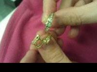 White and Yellow Gold 14K size 6 wear alone or