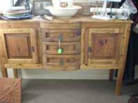 This is a beautiful Dining Room Hutch 3 Drawers and 2