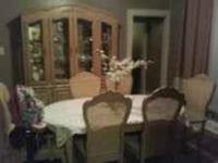 Maggie  Hi i have a beautiful real wood dining set that