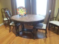If you are looking for a unique dining table with