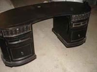 Gorgeous Edwardian Style office desk. Very sturdy and