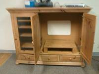 Great Condition! Beautiful Entertainment Center. Must