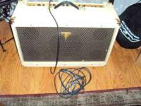 This is a gorgeous amp. Used only twice. Epiphone