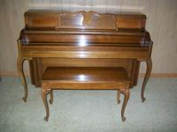 Beautiful Everett Console Piano - (Yamaha product)