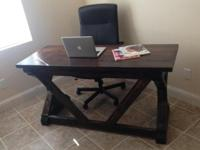I'm selling this beautiful rustic-farmhouse style desk