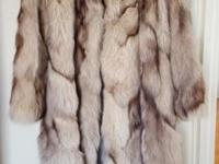 Beautiful Full Length and Extremely Warm Fox coat. It