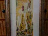 Beautiful framed artwork for just $30 for sale in