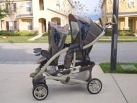 Beautiful gently used Graco Quattro Duo Stroller