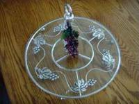 #1 $35.00 This is a beautiful grape design round silver