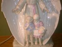 For sale is a beautiful Guardian Angel & Children