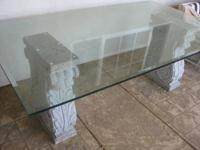 This table was hand carved and custom made. The table