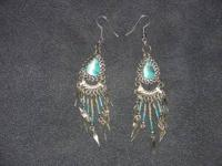 These are very beautiful hand made earrings at such