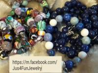 the bracelets are $10.00 each the earrings are $15.00
