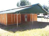 **New Beautiful Raised Breezeway Barn** 5- 12' x 12'