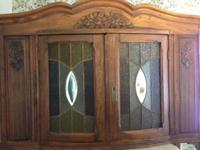 We have for sale a beautiful huge hutch with stained