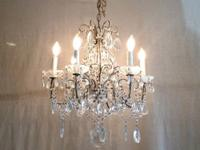 Beautiful Italian Crystal Chandelier $2195 Country