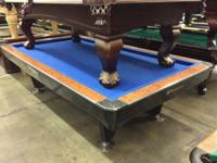 Straight from a billiard hall to your home is this