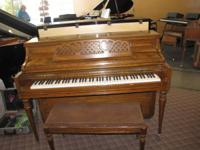 I have a beautiful Oak Kimball Console piano. This