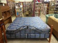 We are marketing a gorgeous master size bed. The bed