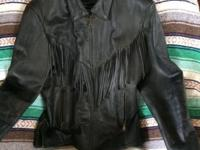 NEVER BEEN USED BLACK-- RAIDER brand-- bike coat for