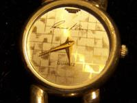 This is a very beautiful Lady's Quartz Bikers Watch by