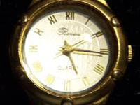 This is a very beautiful Lady's Quartz Watch by Ronica.