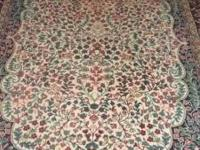 I have for sale a huge beautiful oriental area rug with