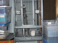 Perfect cage for parakeets, cockatiels,lovebirds,
