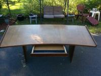 For Sale Beautiful Large Desk Has pull out drawer Large