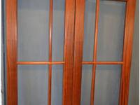 BEAUTIFUL RIBBON STRIPE HONDURAS MAHOGANY Mfg by Eggars