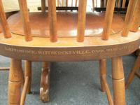 Here for sale is a beautiful large hitchcock table with