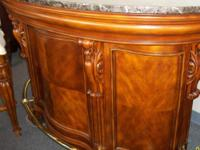 I have a beautiful marble topped bar for sale. The bar