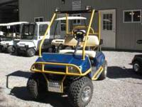 This golf cart is loaded. If you are looking for a cart