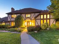 Beautiful Millcreek 2-story Tudor in quiet cul-de-sac.