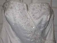 Beautiful Mori Lee wedding Dress USA size 12. Was