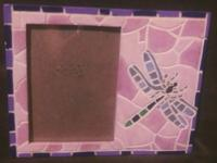 Beautiful, quality made mosaic tile frame with