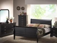 Come see this awesome new bedroom set. It includes a