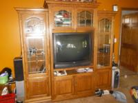 Absolutely beautiful huge entertainment center for all