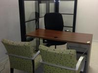 Type: Office Type: Sets Perfect office set! 3 chairs,