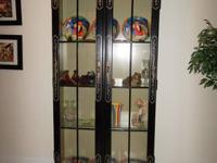 I have this beautiful old china cabinet that has been